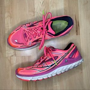 Brooks pink coral woman's running shoes